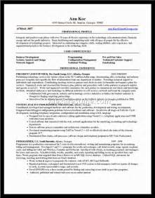 core competencies examples for resumes