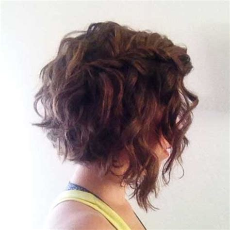 angled bob for curly hair short haircuts for thick wavy hair the best short