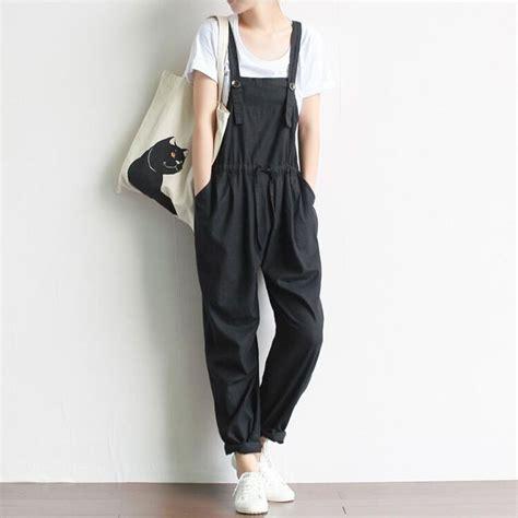 62 best vintage ladies pants images on pinterest fashion women vintage retro jumpsuit casual loose cotton linen