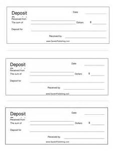 Deposit Slips Template by Best Photos Of Deposit Slip Template Bank Deposit Slip