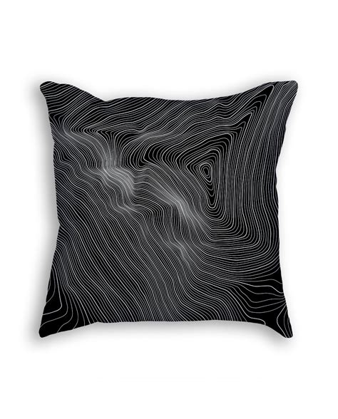 mount everest summit contours throw pillow seven summits