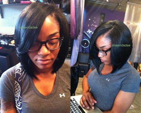 i want to get my weave cut into a bob hairstyle sew in hairstyles