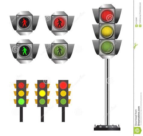 safety sign clipart and stock illustrations 145 171 traffic light set vector clip art stock illustration