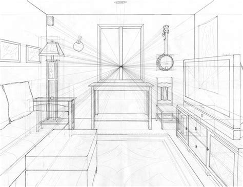 one point perspective room 25 best ideas about one point perspective room on 1 point perspective drawing 4