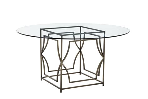 60 quot glass top dining table home and office
