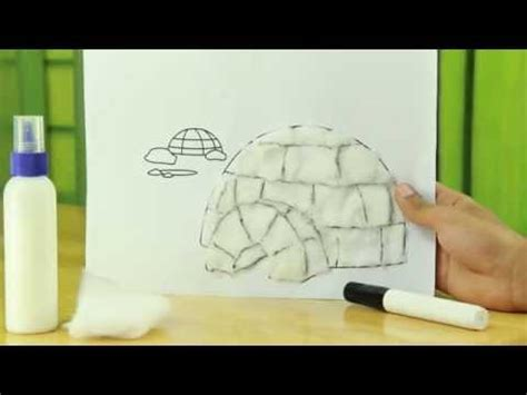 How To Make An Igloo Out Of Paper - how to make craft igloo craft