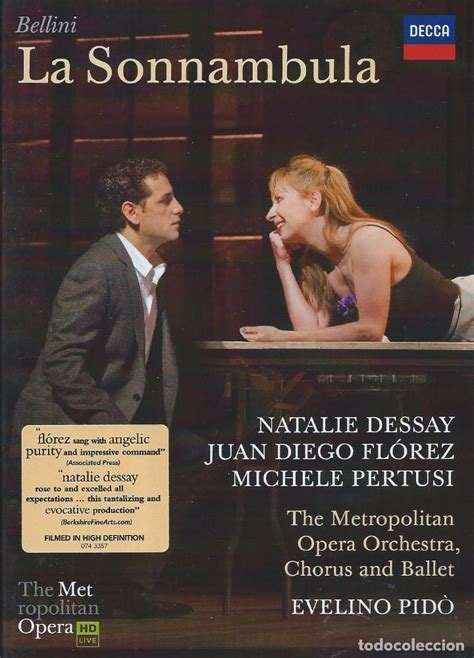 Juan Diego Florez Dessay by La Sonnambula Bellini Natalie Dessay Juan Die Comprar