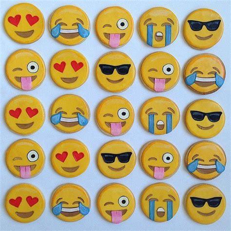 cookie emoji emoji cookies are almost too cute to eat emoji sugar