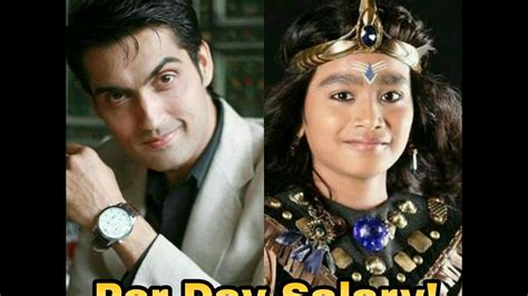 s day actors names per day salary of shani actors