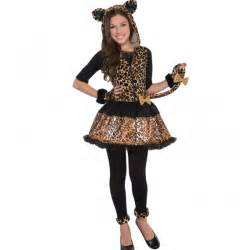 sassy leopard fancy dress animal childs