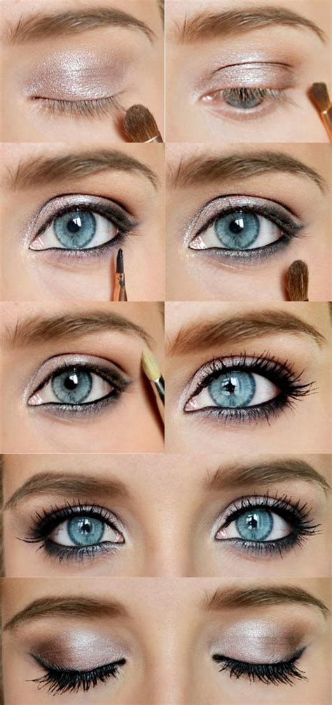 tutorial makeup ultima ii eye makeup for blue eyes tutorial www pixshark com