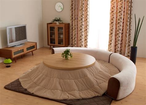 japanese heated table cute round kotatsu its a small japanese heated table
