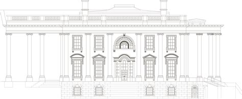 white house blueprints white house blueprint download free blueprint for 3d modeling
