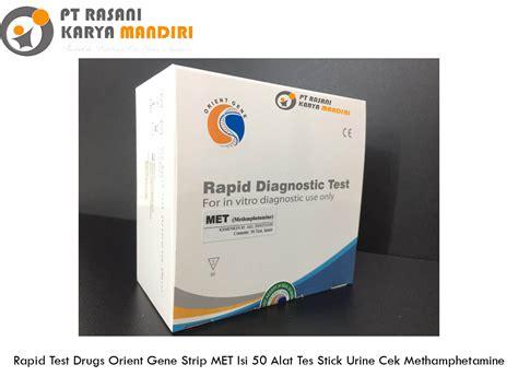 rapid test drugs orient gene strip met isi  alat tes