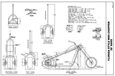 atv frame design download chopper frame plans free download build a bike
