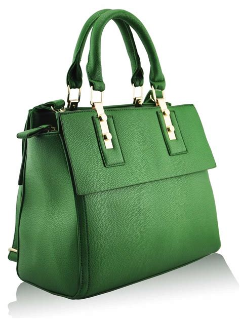 Fadhion Bag wholesale green fashion tote handbag