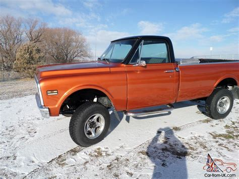 1972 chevy k20 3 4 ton 4x4 completely restored