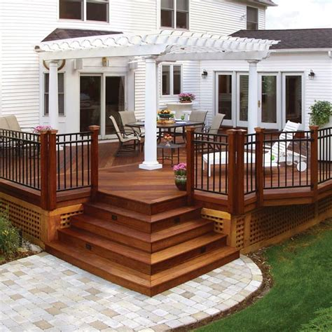 20 beautiful wooden deck ideas for your home decking