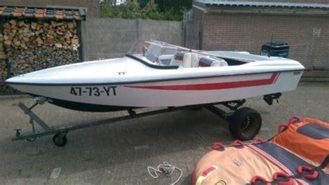 speedboot raam bekro speedboot met 70pk mercury