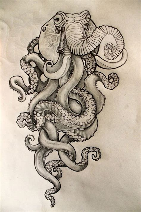 octopus design tattoo 20 best octopus images on