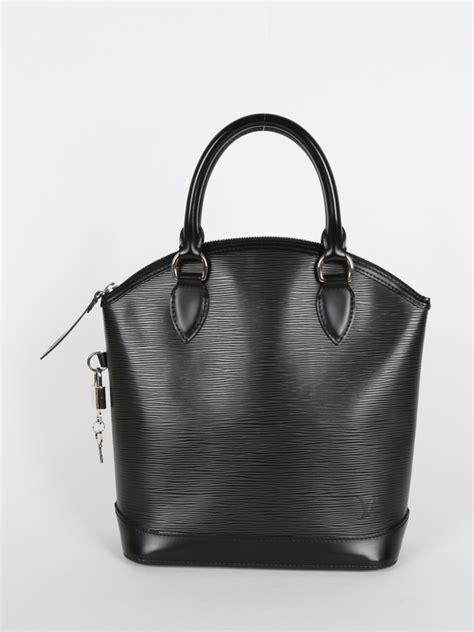 Louis Vuitton Epi Leather Collection by Louis Vuitton Lockit Epi Leather Noir Luxury Bags