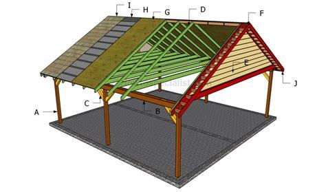 carport blueprints freestanding beam carport google search carport
