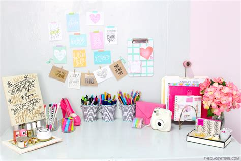 Desk Accessories For Girls Hostgarcia Accessories For Desk