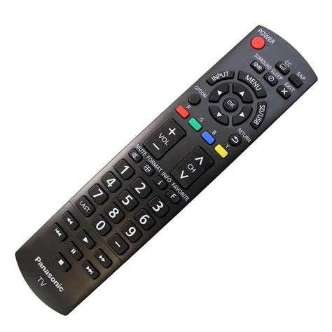 Remote Tv Panasonic original panasonic 60 quot tv tc p60u50 remote n2qayb000706