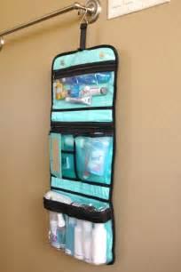 organized travel toiletry bags simply organized