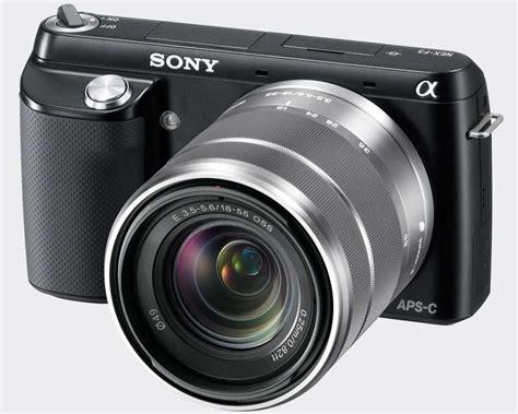 Kamera Sony Nex F3 sony nex f3 einsteiger systemkamera mit avchd