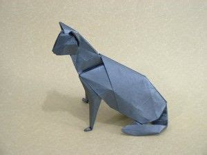 Challenging Origami - origami cat difficult crafty origami