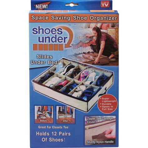 As Seen On Tv Closet Organizer by 2 X Bed Storage Shoe Tidy Closet Bag As Seen On Tv
