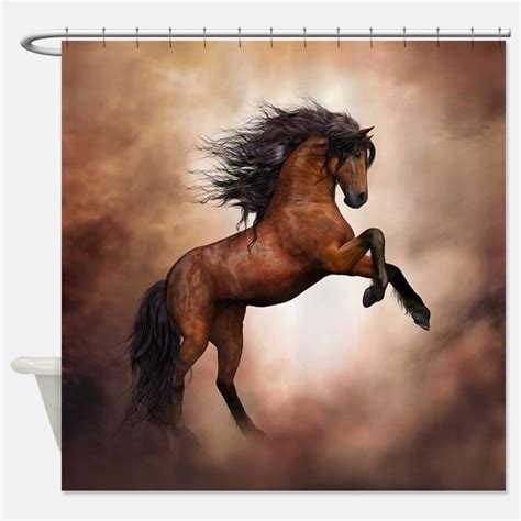 horse shower curtain year of the horse shower curtains year of the horse