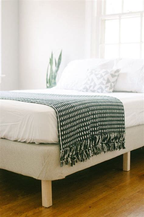 Bed Frame Stands Try This Diy Project Turn An Box Mattress Into Stand Alone Bed Frame Guest Rooms