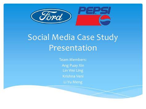 Mba Study Presentation Format by Social Media Study Presentation