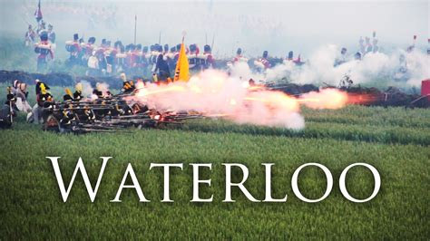 0007539401 waterloo the history of battle of waterloo 200th reenactment youtube
