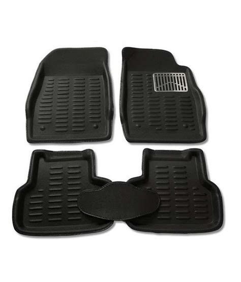 3d Foot Mat by Autokraftz Premium 3d Car Foot Mat For Hyundai Creta Black