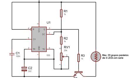 transistor bc337 funcionamento eletronica erlich strobo flash de leds