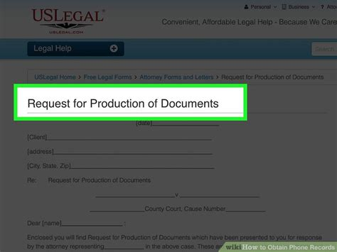Can Phone Records Be Subpoenaed In A Divorce 4 Ways To Obtain Phone Records Wikihow