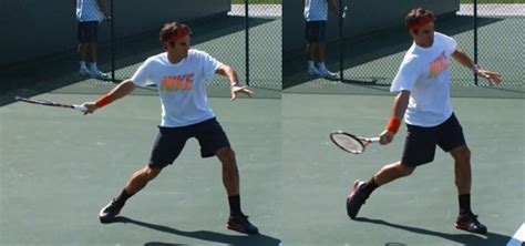 forehand swing rear toe drag on closed stance atp forehand talk tennis
