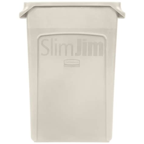 A Rant About The Rubbish Hippyshopper 2 by Rubbermaid Fg354060beig 23 Gallon Slim Jim Beige Trash Can