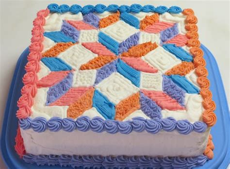 Quilting A Cake by Pin By Beth On The Specialty Cake Shop