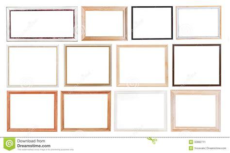 cornici semplici insieme di vecchie cornici immagine stock immagine 32882711