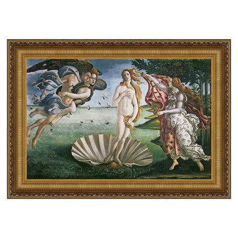 Dining Room Ideas Traditional by Design Toscano Da168 The Birth Of Venus 1485 Framed Art