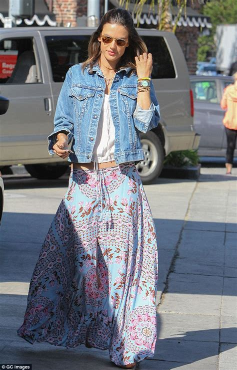The Alessandra Ambrosio Weekend by Alessandra Ambrosio Pumps Own Gas As She Runs Errands