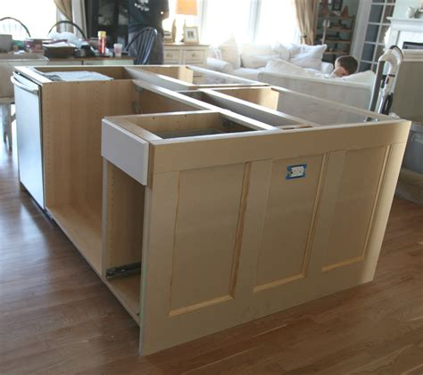building a kitchen island ikea hack how we built our kitchen island jeanne oliver