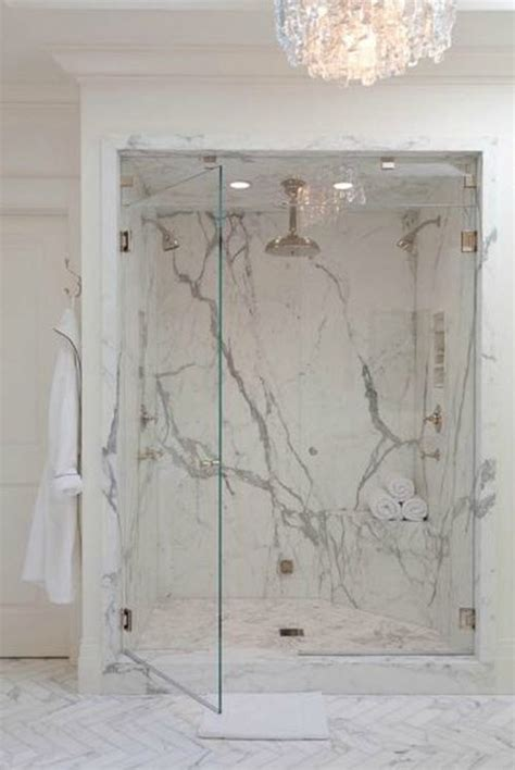 marble bathroom shower walls 29 white marble bathroom tile ideas and pictures