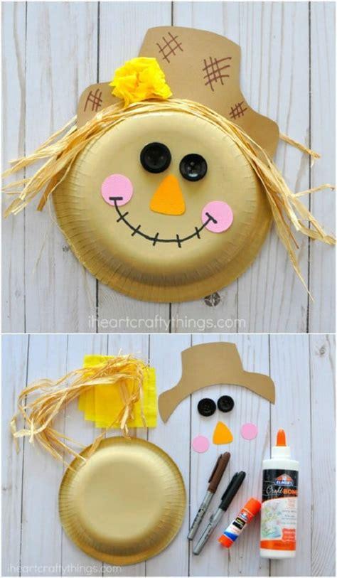 fun diy scarecrow crafts  kids