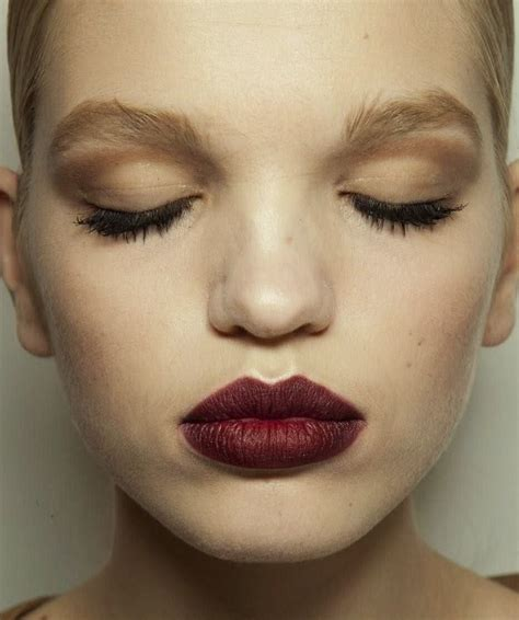 Lipstick With Burgundy Shirt fall into autumn with a burgundy makeup makeover strutting in style nancy mangano s fashion