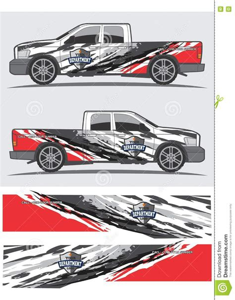 Car Design Sticker Download by Truck And Vehicle Decal Graphic Design Cartoon Vector
